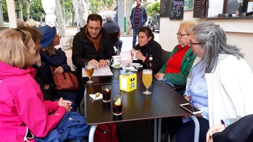 Connecta Cor - Camins d_Egara 2018 – 10 Cripta Guell